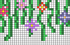 Alpha pattern #47758