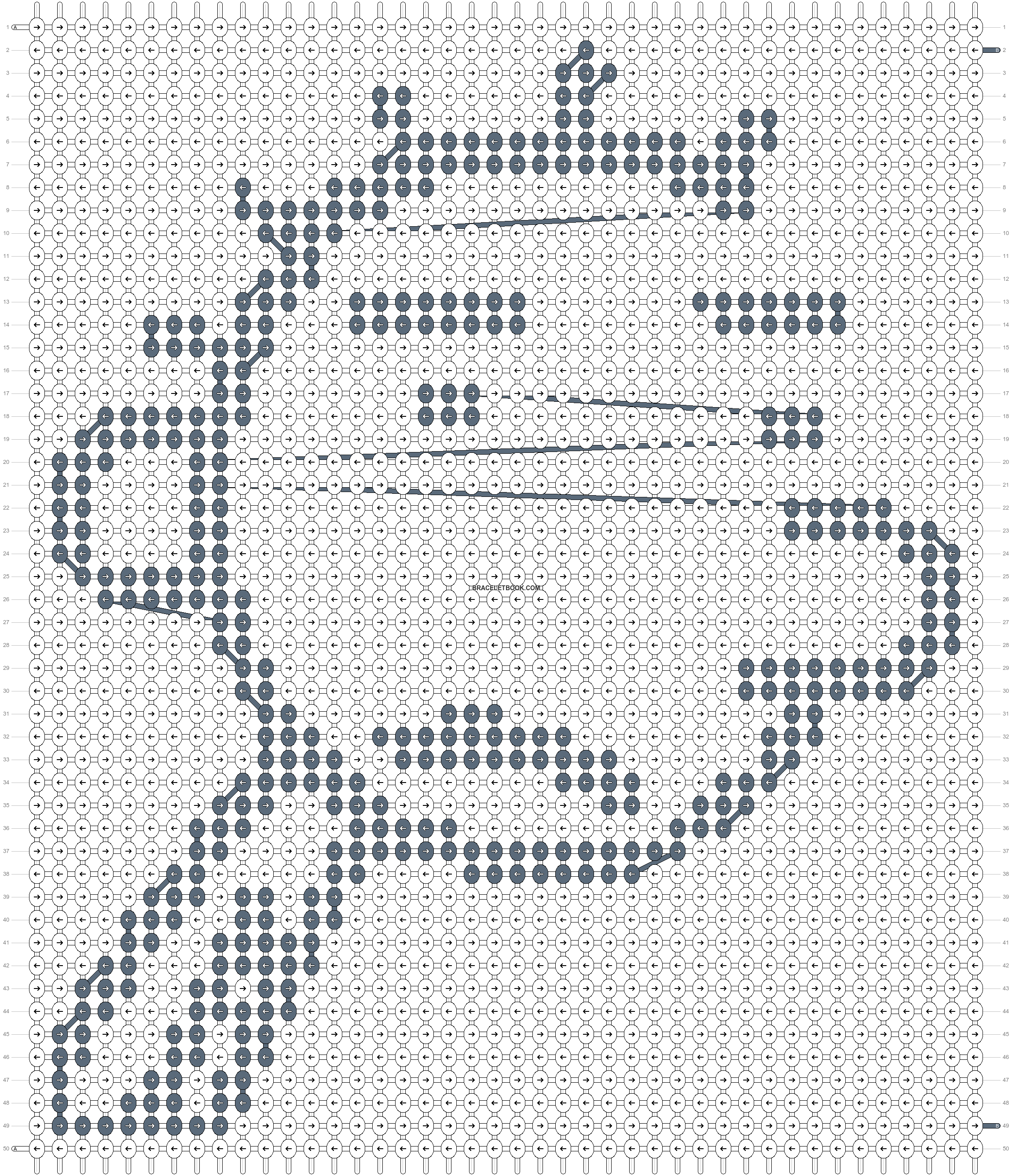 Alpha pattern #47764 pattern