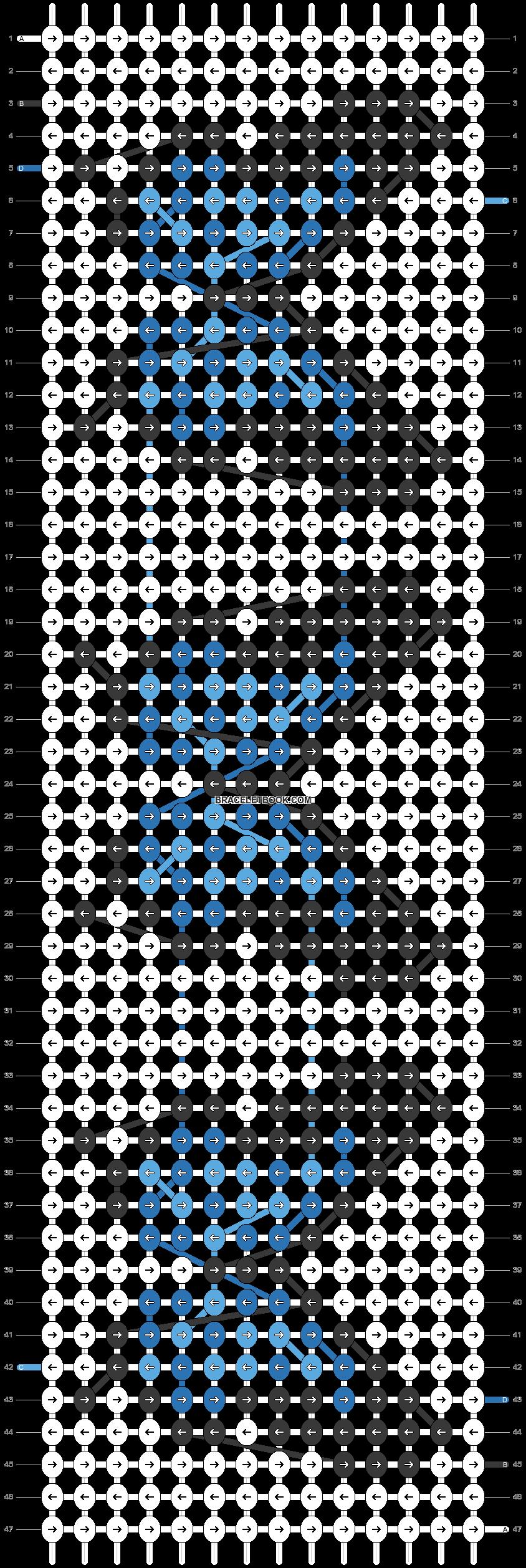 Alpha pattern #47765 pattern