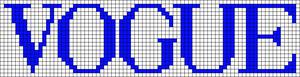 Alpha pattern #47853