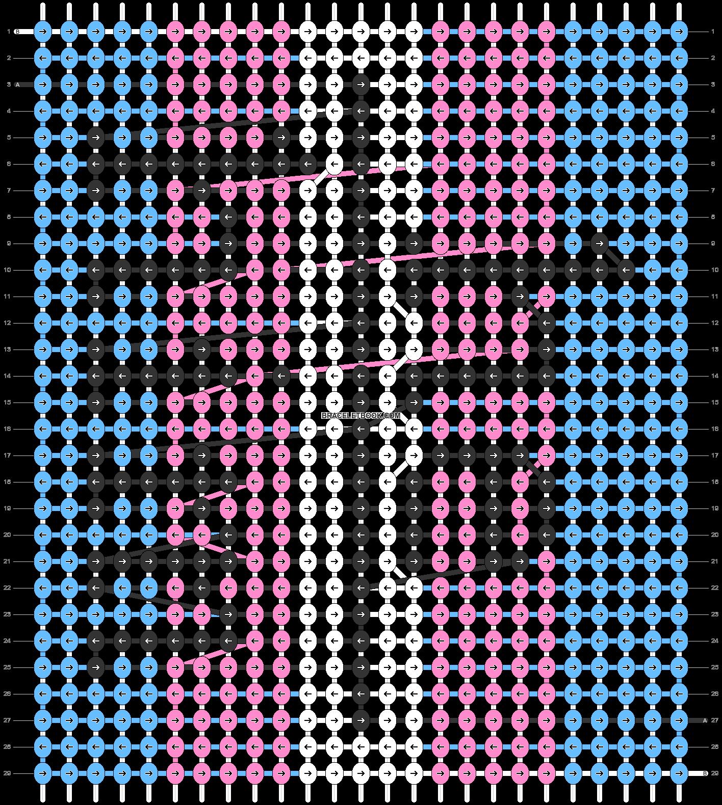 Alpha pattern #47856 pattern