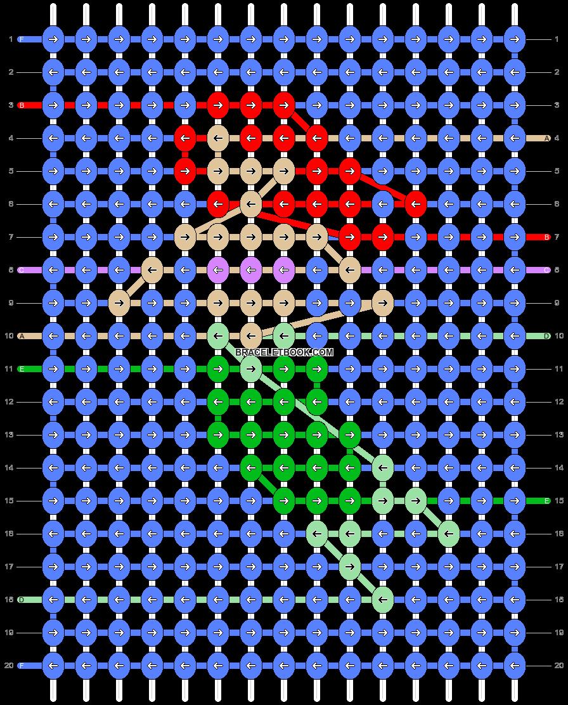 Alpha pattern #47861 pattern