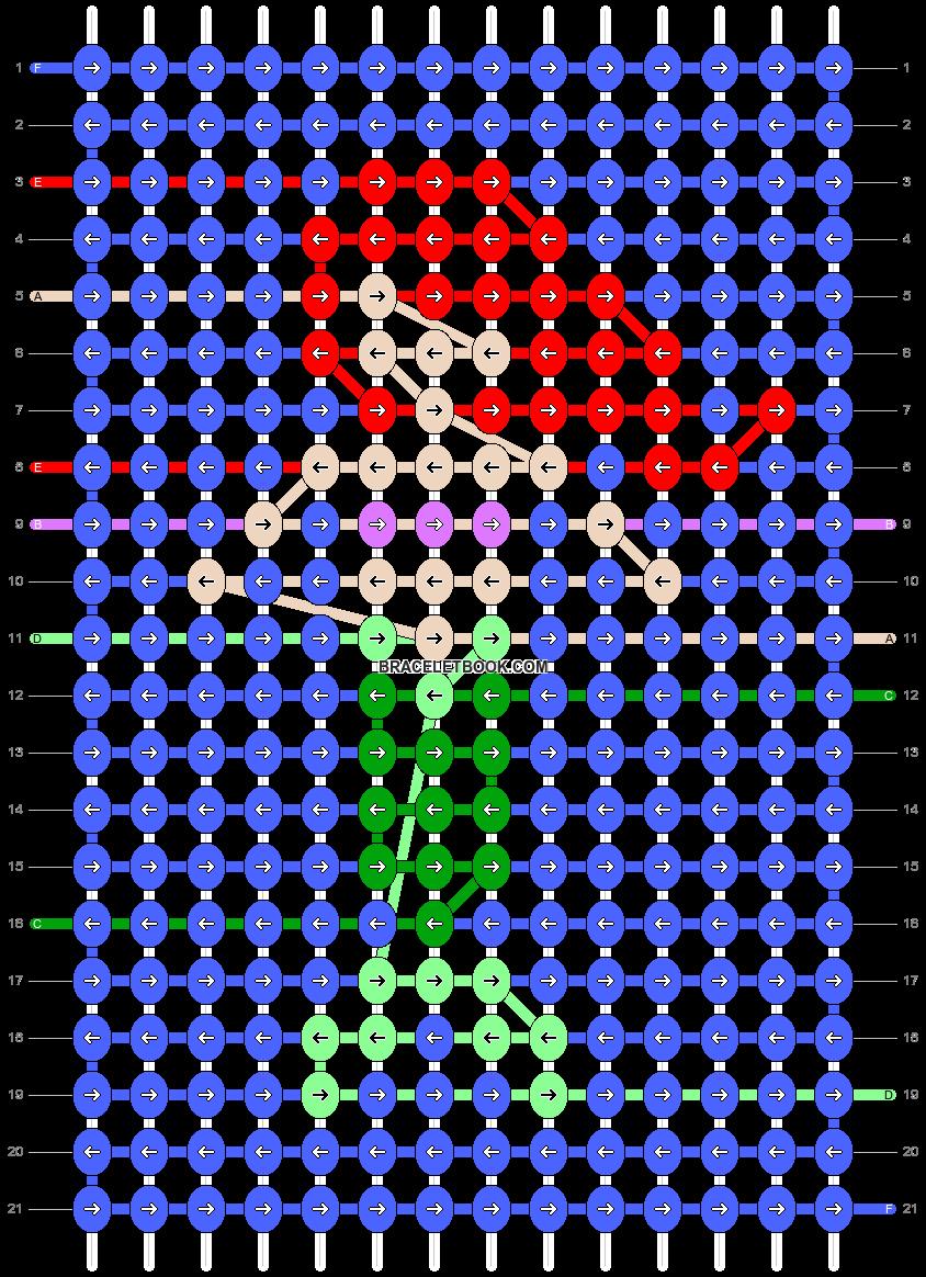 Alpha pattern #47862 pattern