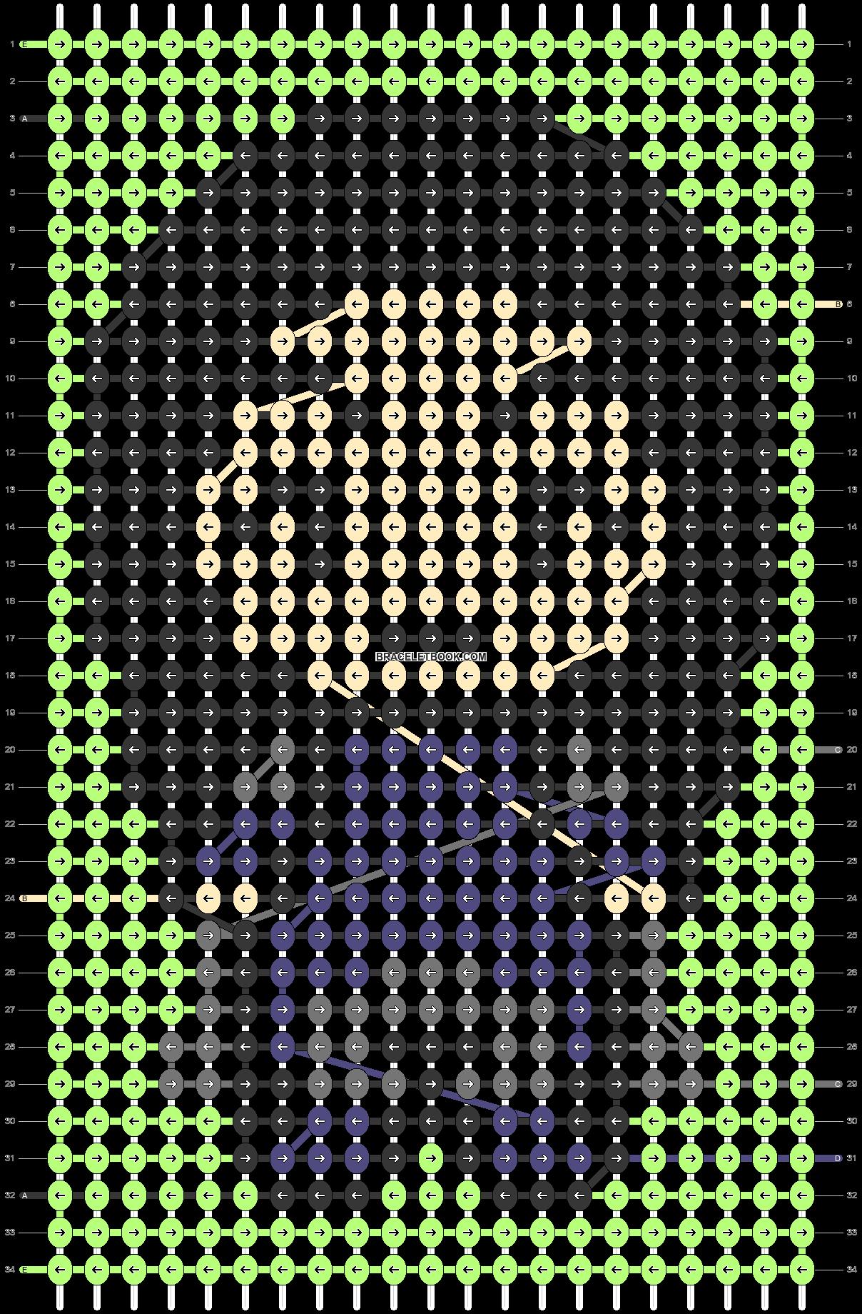 Alpha pattern #47865 pattern