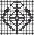 Alpha pattern #47876