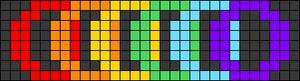Alpha pattern #47888