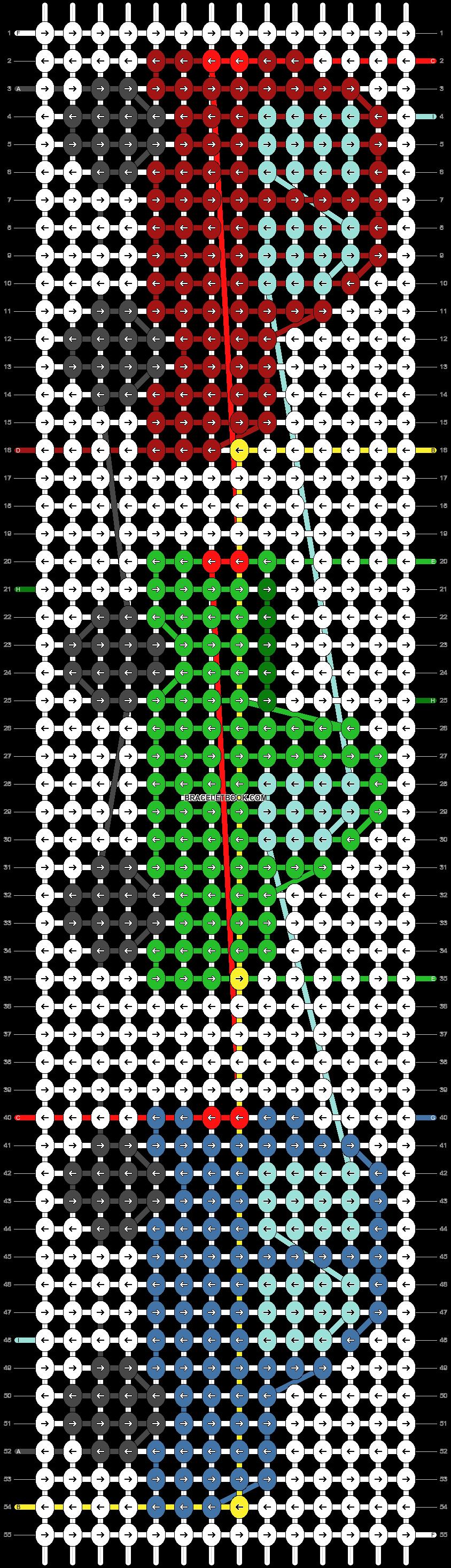 Alpha pattern #47890 pattern