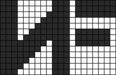 Alpha pattern #47895
