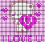 Alpha pattern #47947