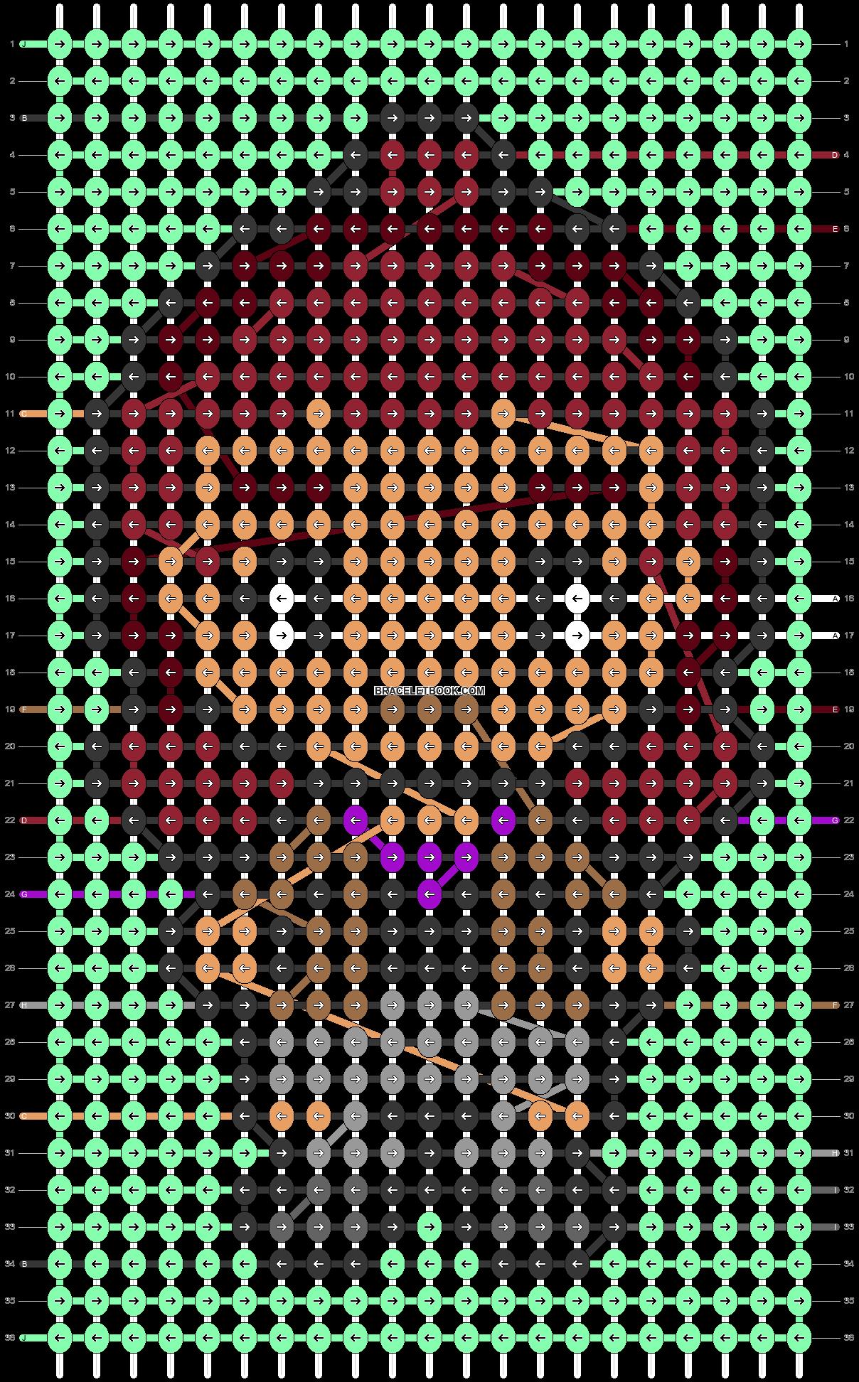 Alpha pattern #47950 pattern