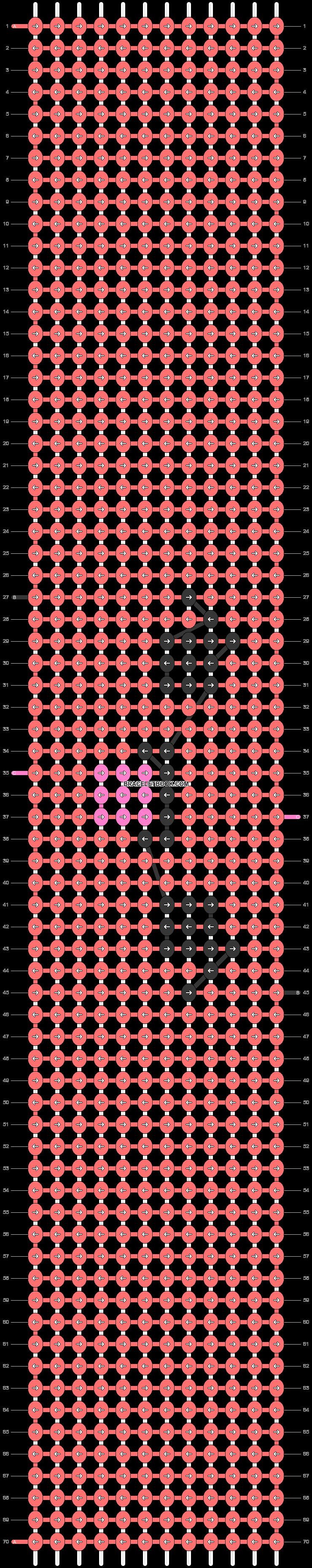Alpha pattern #47957 pattern