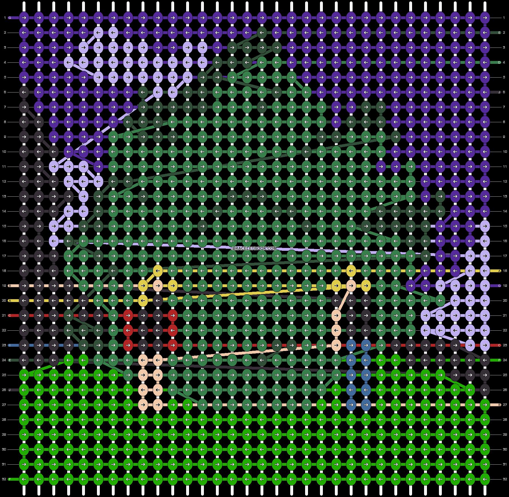 Alpha pattern #47968 pattern