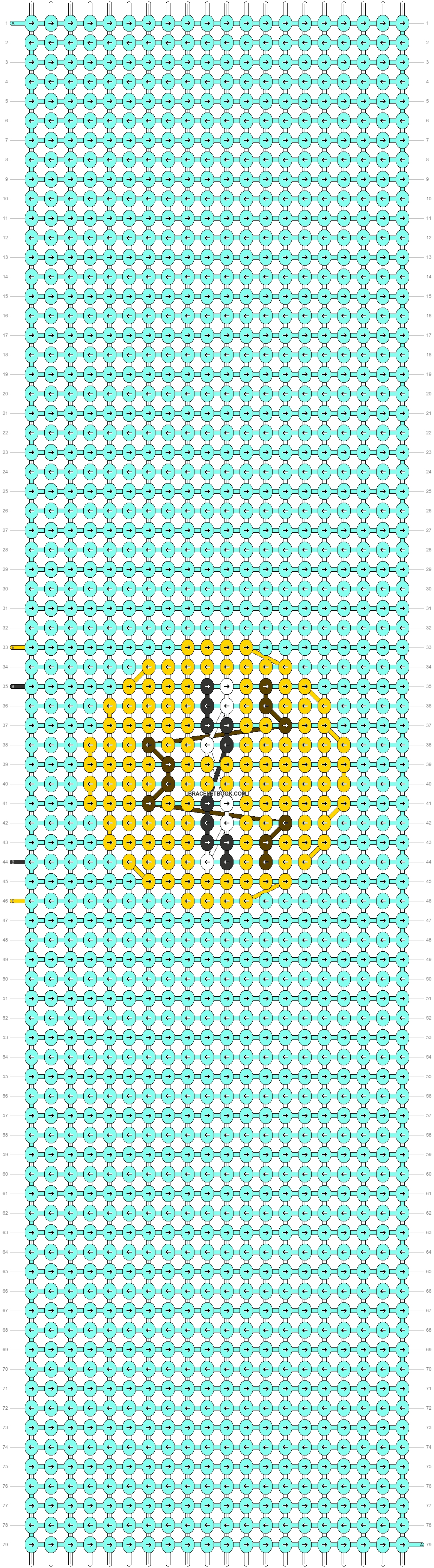 Alpha pattern #47984 pattern