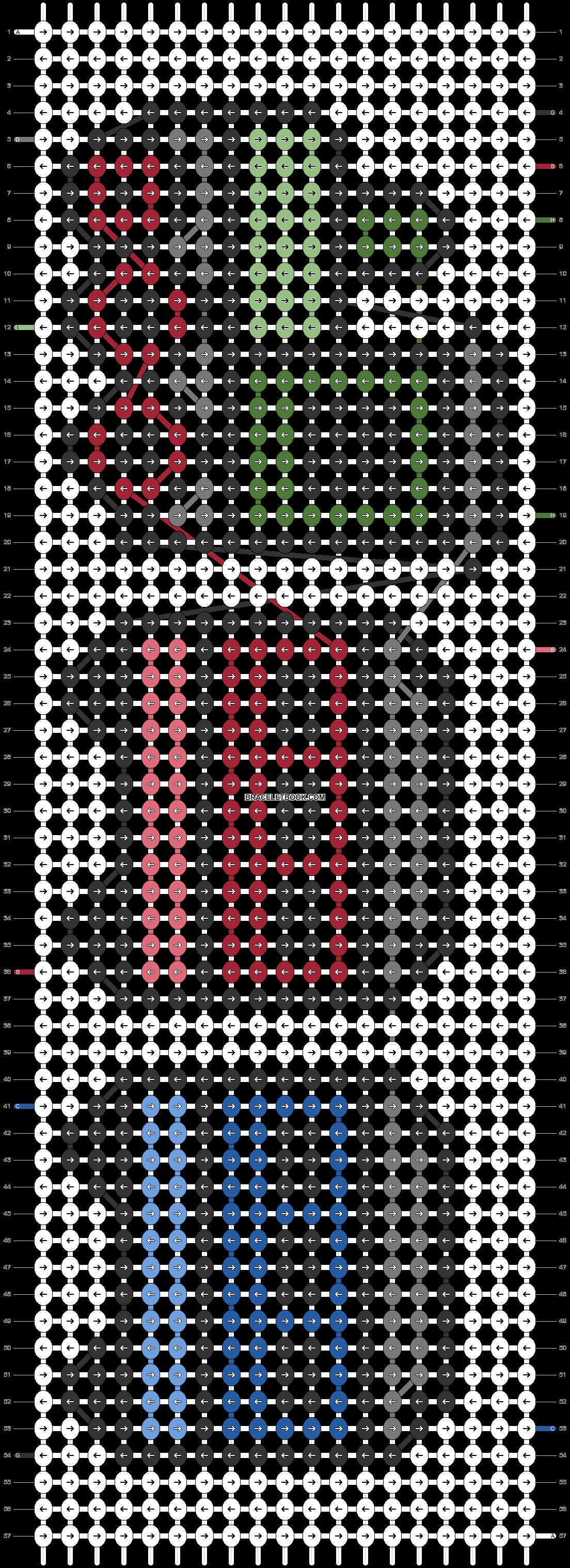 Alpha pattern #47995 pattern