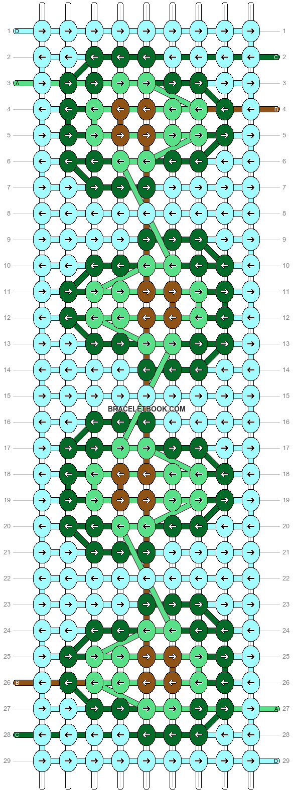 Alpha pattern #47996 pattern