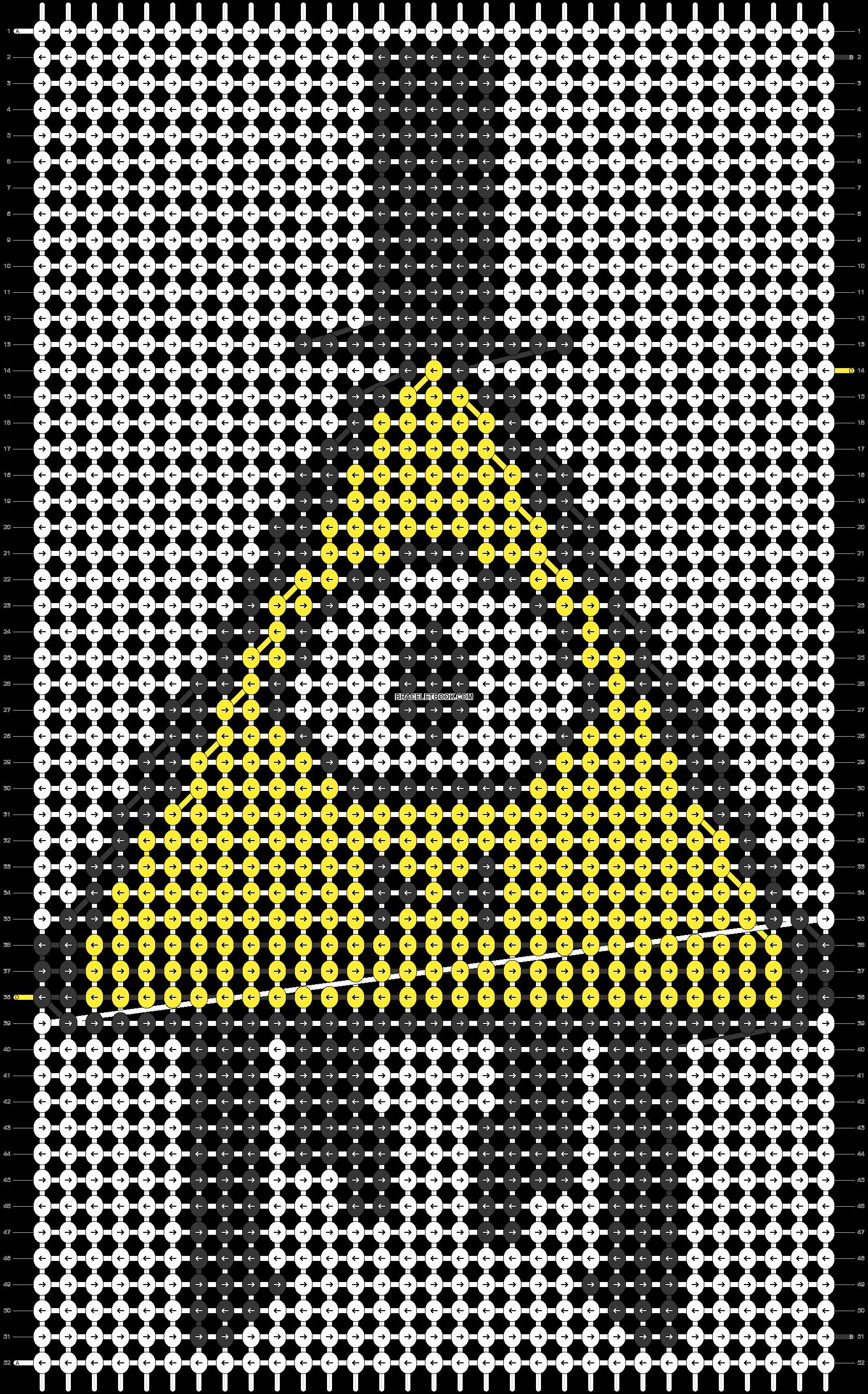 Alpha pattern #48025 pattern