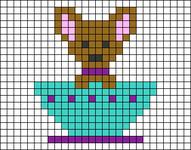 Alpha pattern #48031