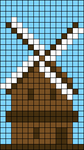Alpha pattern #48038