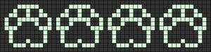 Alpha pattern #48049