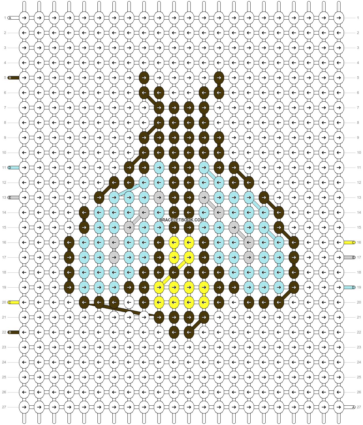 Alpha pattern #48061 pattern