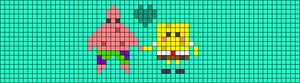 Alpha pattern #48091