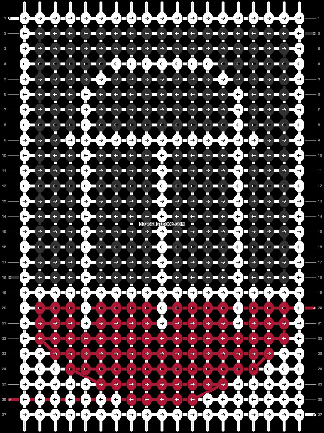 Alpha pattern #48098 pattern