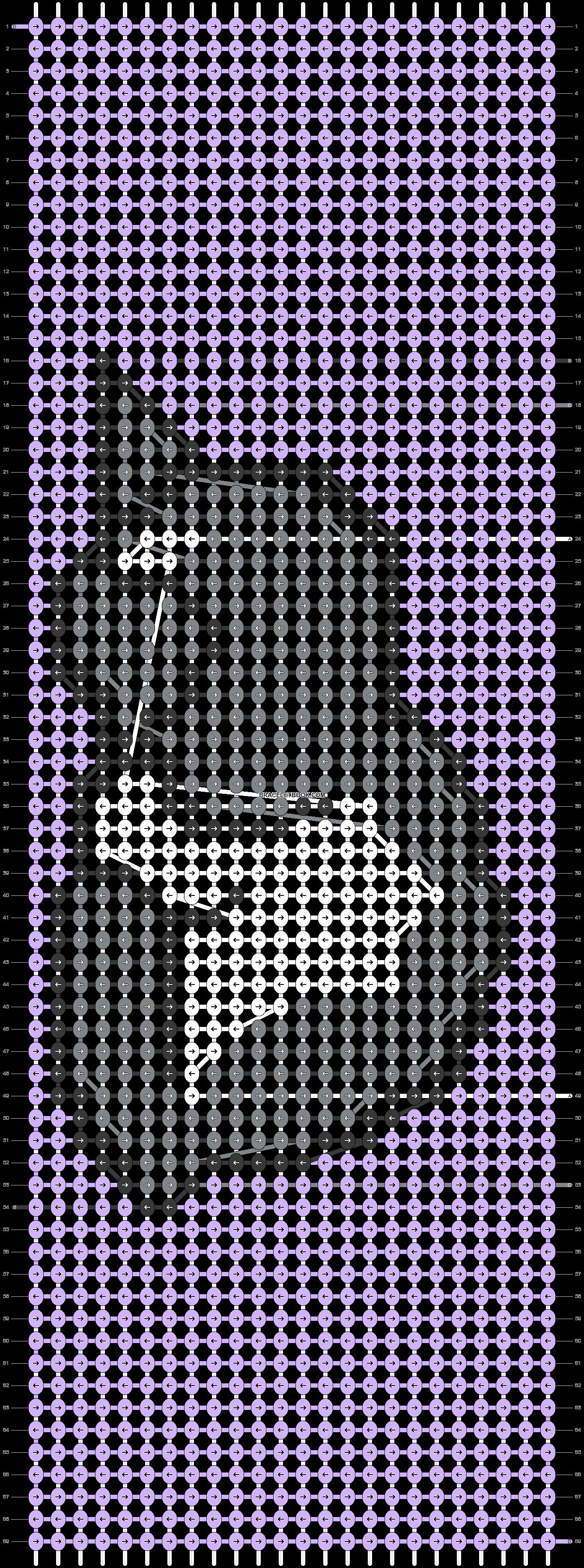 Alpha pattern #48103 pattern