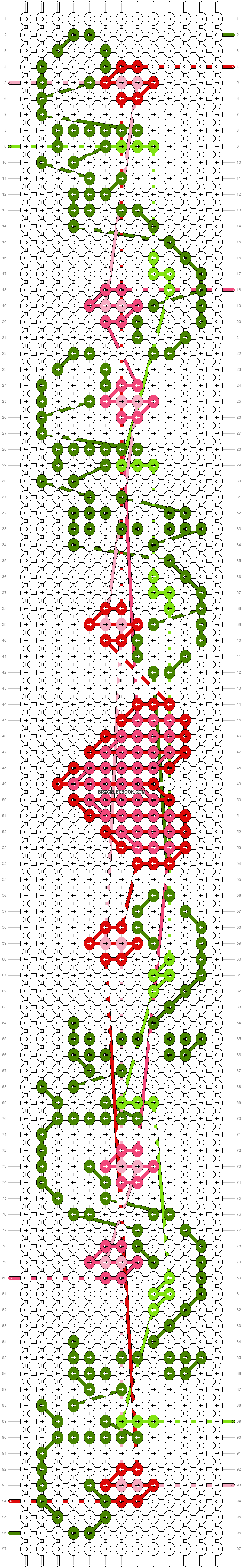 Alpha pattern #48110 pattern