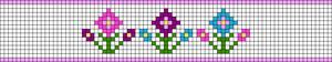 Alpha pattern #48123
