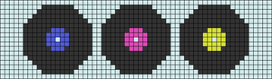 Alpha pattern #48125