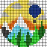 Alpha pattern #48126