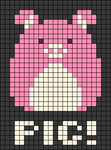 Alpha pattern #48131