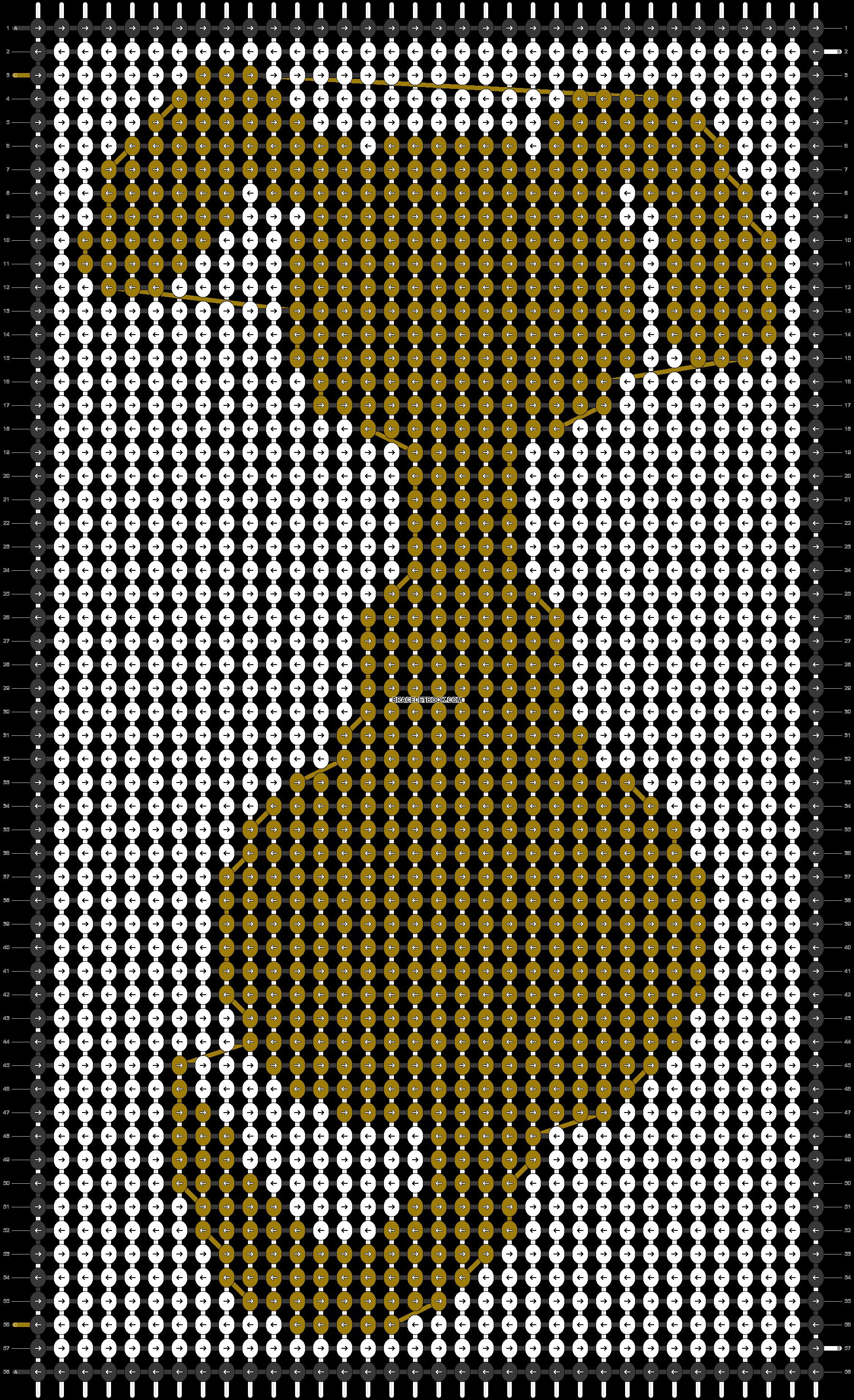 Alpha pattern #48134 pattern