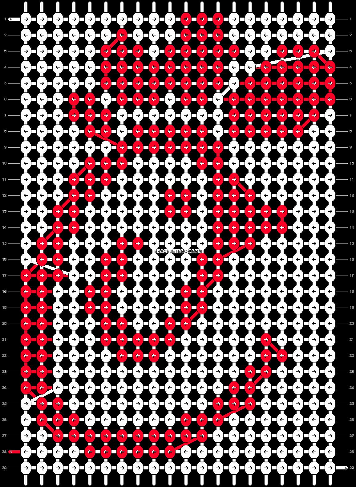Alpha pattern #48136 pattern