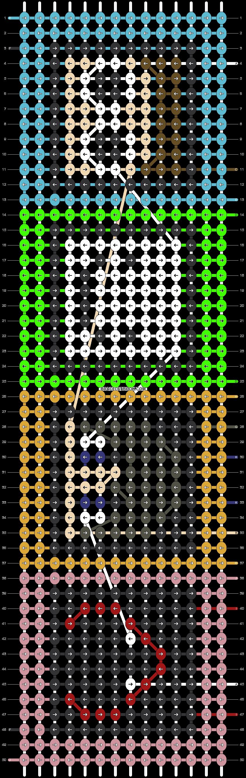 Alpha pattern #48141 pattern