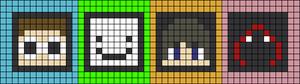 Alpha pattern #48141