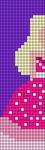 Alpha pattern #48167