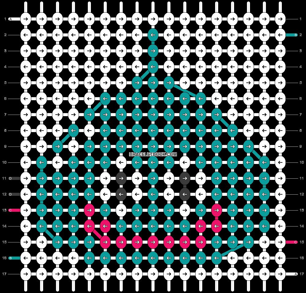 Alpha pattern #48210 pattern