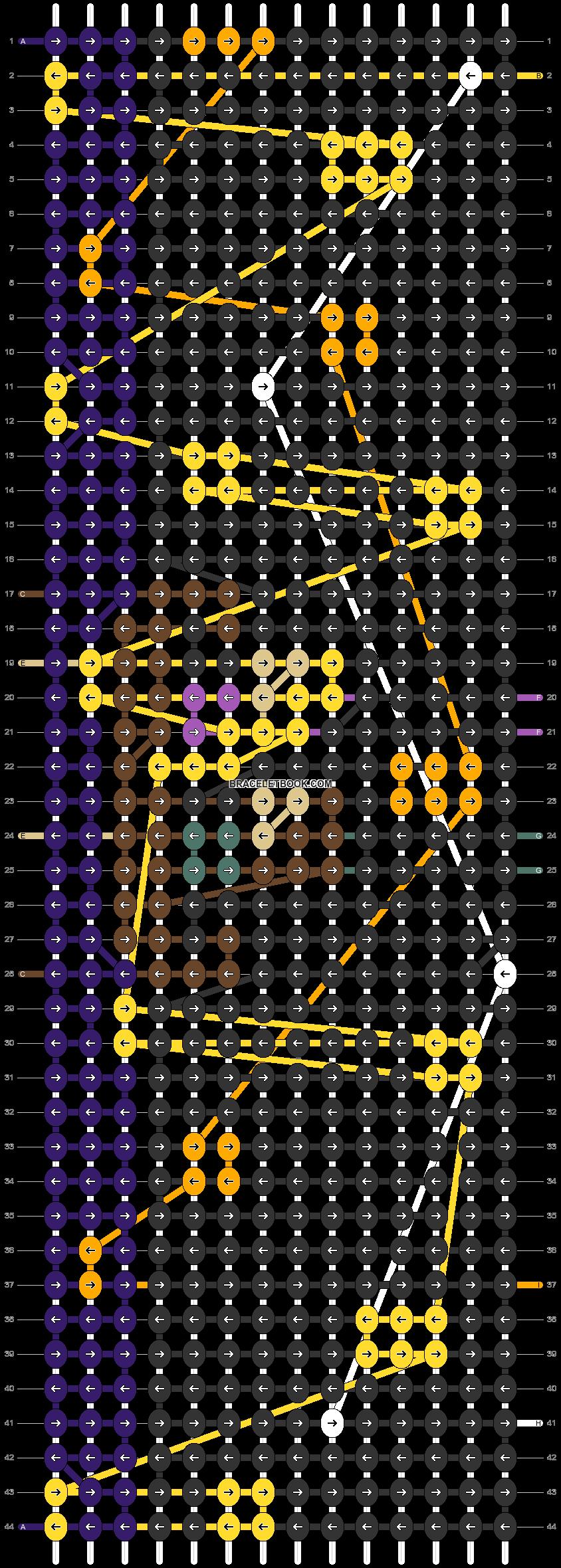 Alpha pattern #48215 pattern