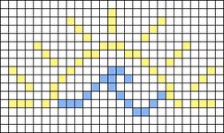 Alpha pattern #48246