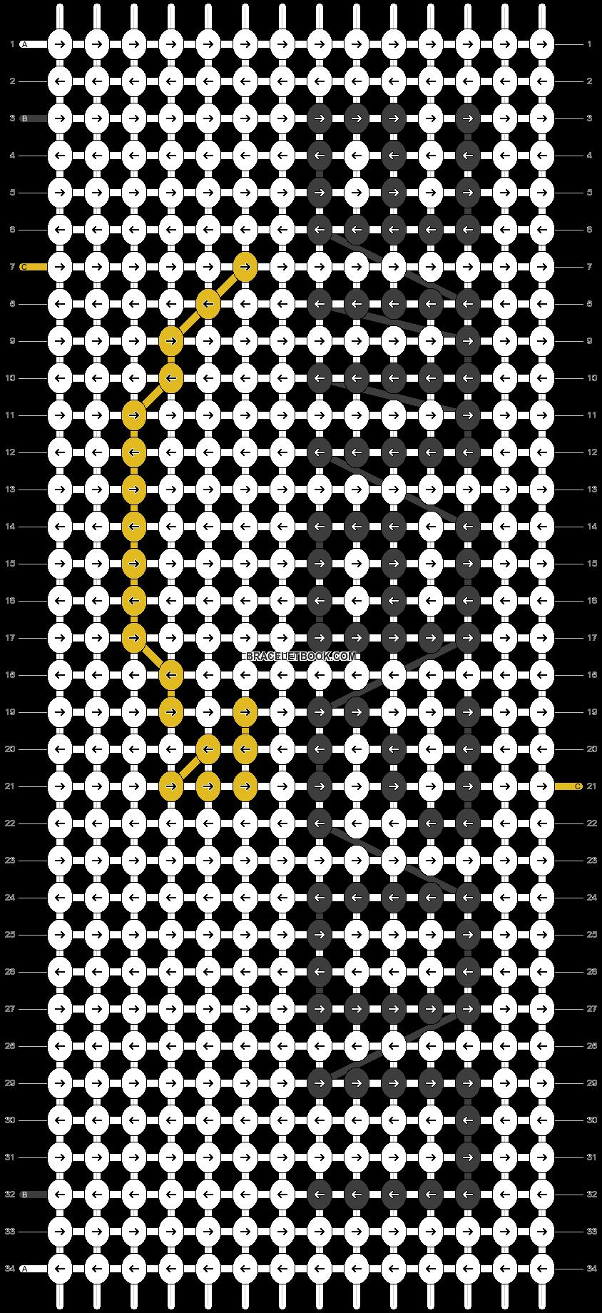 Alpha pattern #48254 pattern