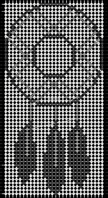 Alpha pattern #48257 pattern