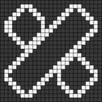 Alpha pattern #48286