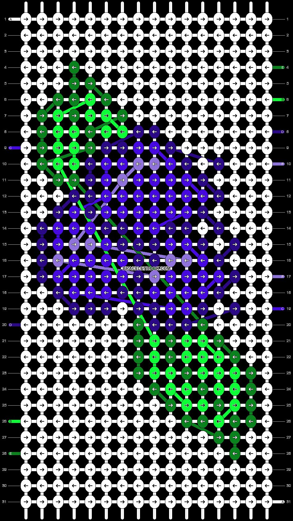 Alpha pattern #48290 pattern