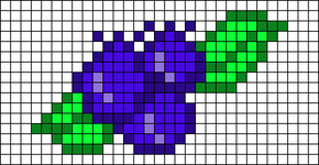 Alpha pattern #48290