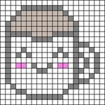 Alpha pattern #48293