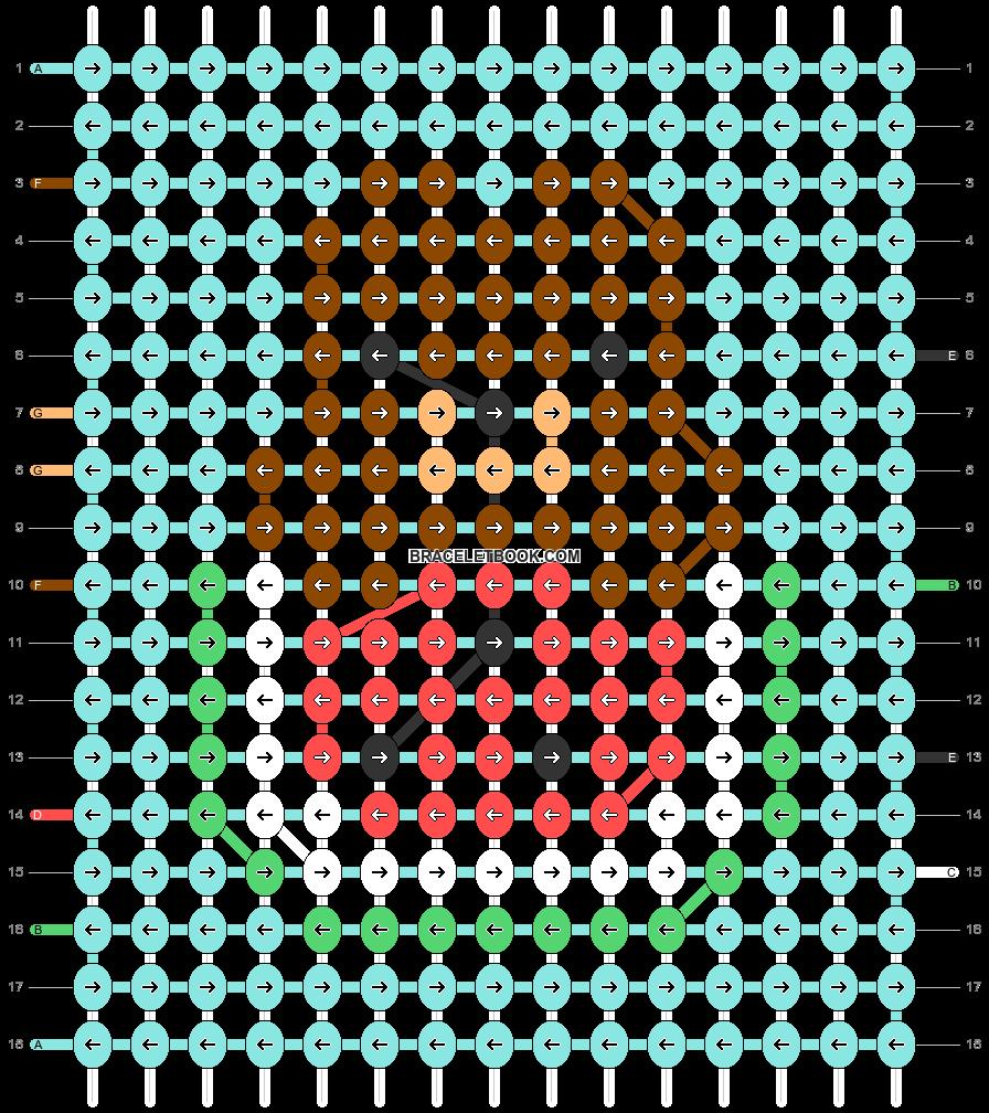 Alpha pattern #48294 pattern