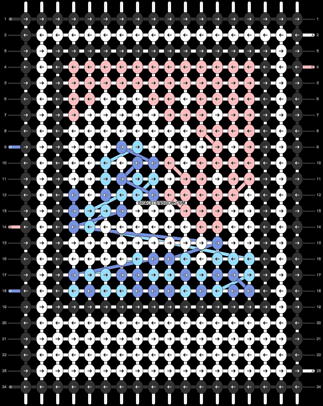 Alpha pattern #48304 pattern