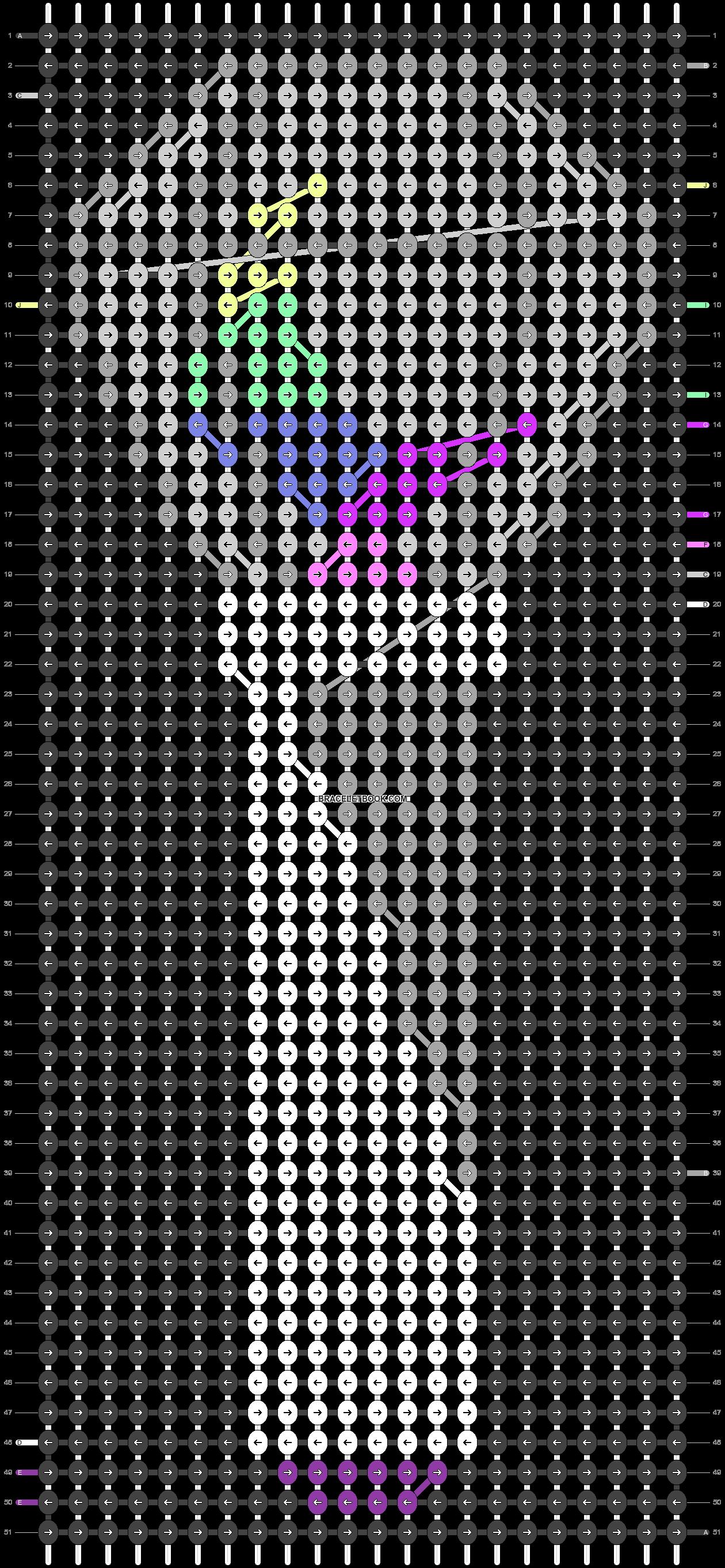 Alpha pattern #48311 pattern