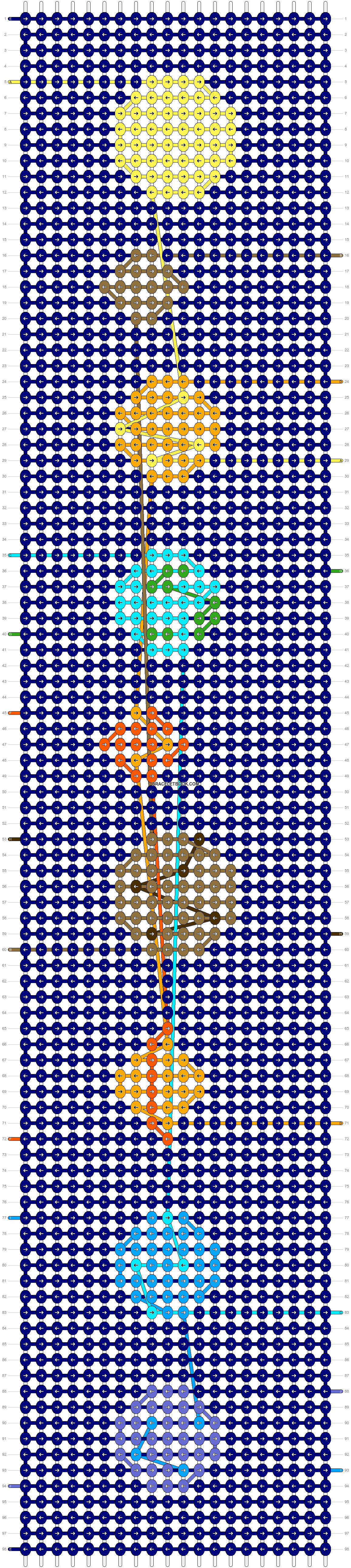 Alpha pattern #48348 pattern